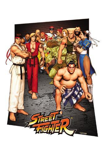 Street Fighter - 3D Poster 3 Dimensional Poster