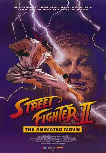 Street Fighter II Movie Masterprint