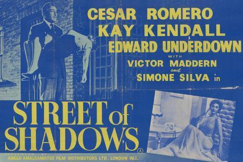 Street of Shadows Art Print
