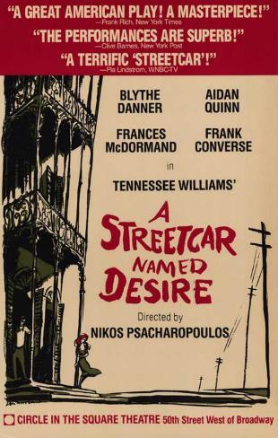 Streetcar Named Desire, A - Broadway Poster , 1988 Masterprint