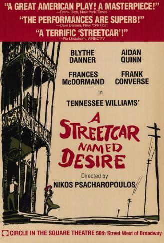 Streetcar Named Desire, A (Broadway) Poster