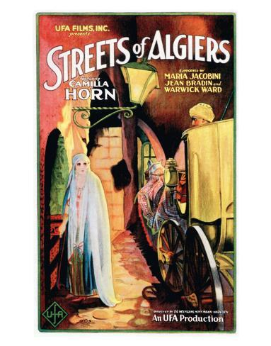 Streets Of Algiers - 1928 ジクレープリント