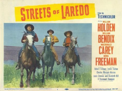 Streets of Laredo, 1956 Art Print