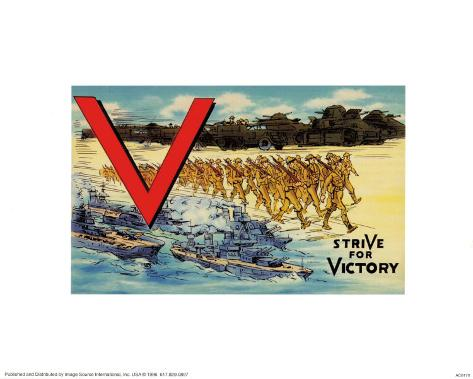 Stride For Victory Art Print