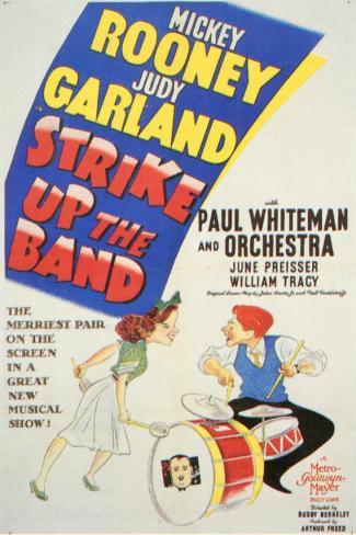 Strike Up the Band Masterprint