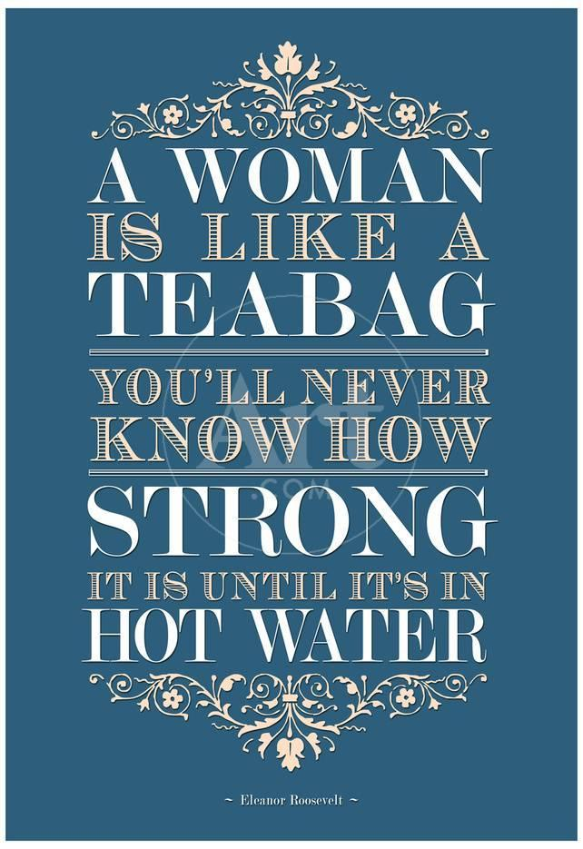 Strong Woman Eleanor Roosevelt Quote Prints At Allposters
