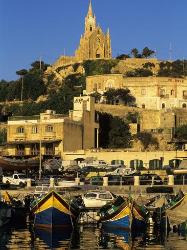 Mgarr Harbour, Gozo, Malta, Mediterranean, Europe Photographic Print