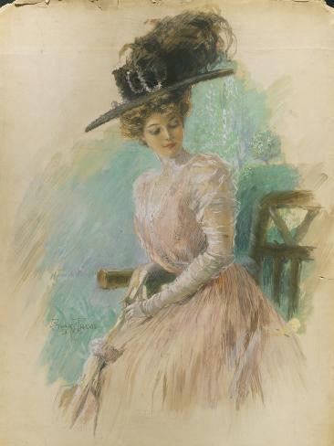 Vogue - May 1908 Stampa giclée premium