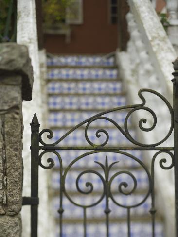 Building Details, Avenue Tiradentes, Petropolis, Rio De Janiero, Brazil Photographic Print