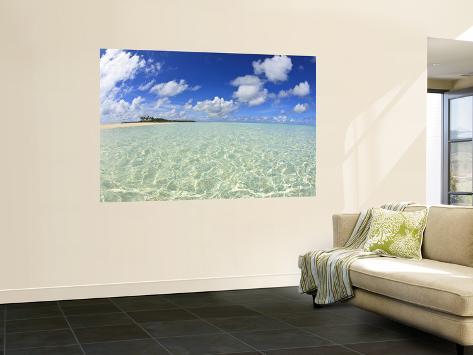 Kadhdhoo Island, Laamu Atoll, Southern Maldives, Indian Ocean Giant Art Print