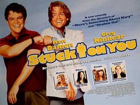 Stuck On You Original Poster