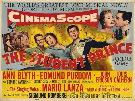 Student Prince, 1954 Art Print