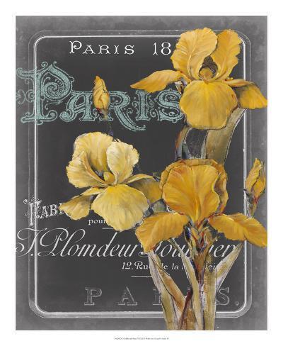 Chalkboard Paris IV Stampa artistica