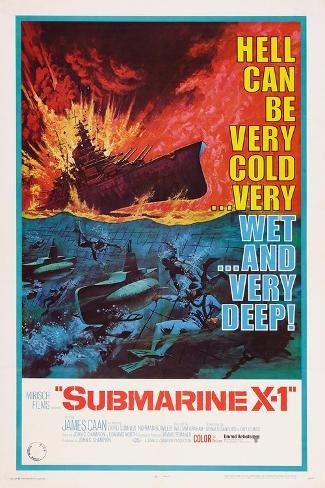 Submarine X-1, 1968 Art Print