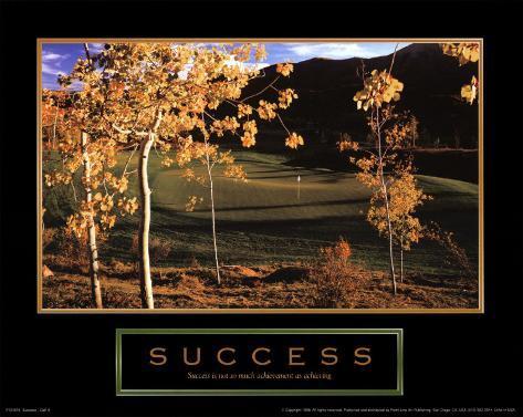 Success: Golf II Art Print