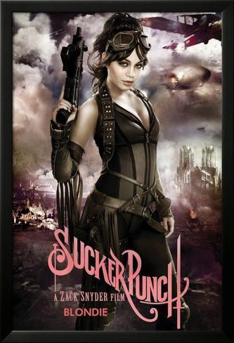 Sucker Punch - Blondie Lamina Framed Poster