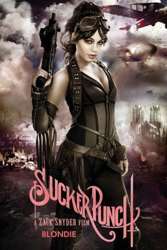 Sucker Punch - Blondie Poster
