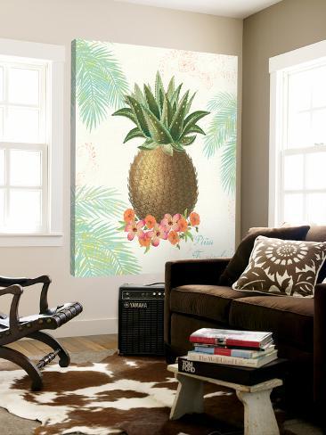 Flamingo Tropicale IV Loft Art