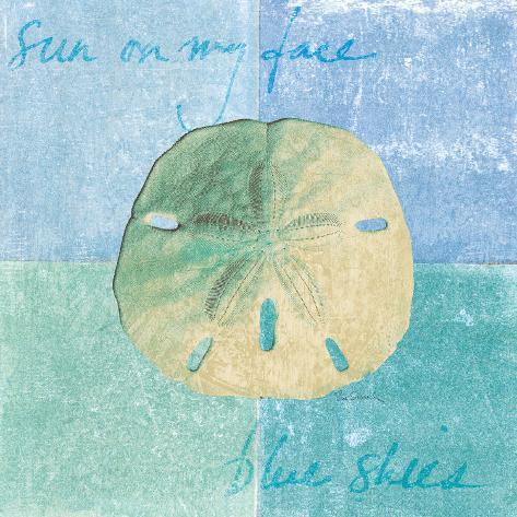 Serene Sands Art Print