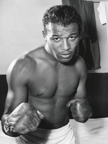 オールポスターズの sugar ray robinson was the welterweight boxing