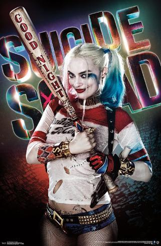 Suicide Squad - Good Night Pôster