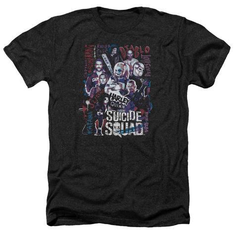 Suicide Squad- Graffiti Roll Call T-Shirt