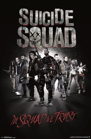 Suicide Squad- In Squad We Trust Pôster