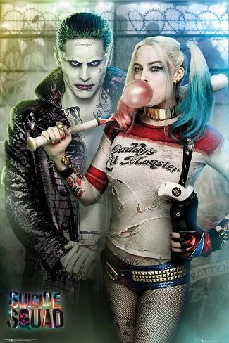 Suicide Squad- Joker & Harley Power Couple Póster