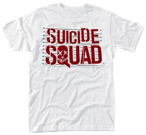 Suicide Squad- Line Up Logo T-shirt