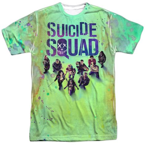 Suicide Squad- Stained Poster Sublimated