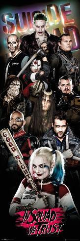 Suicide Squad- Tight Crew Door Poster