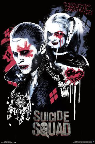 Suicide Squad- Twisted Love Pôster