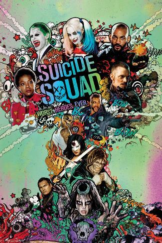 Suicide Squad- Worst Heroes Ever One Sheet Poster