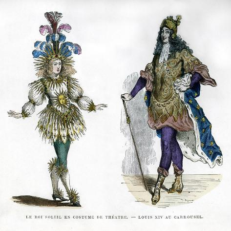 Sun King Theatre Costume, and King Louis XIV of France, 1882-1884 Giclee Print
