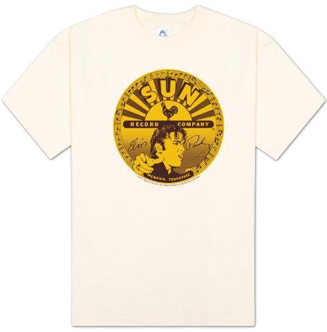Sun Studios - Elvis Full Sun Label T-Shirt