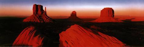 Sunrise, Monument Valley Poster