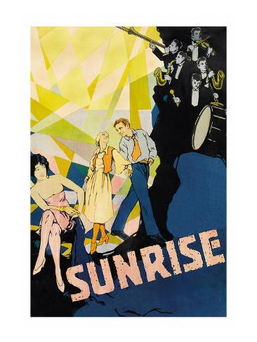 Sunrise Premium Giclee Print