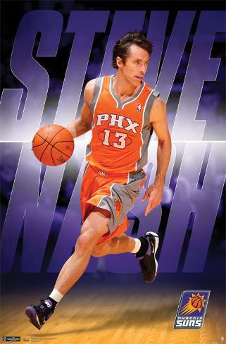 Suns - S Nash 2011 Poster