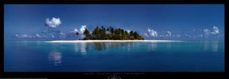 Island, Maldives, North Indian Ocean Art Print