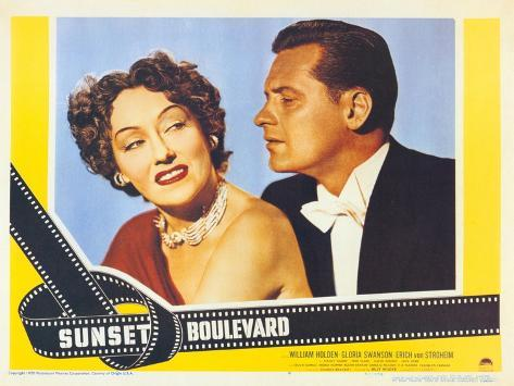 Sunset Boulevard, 1950 Art Print