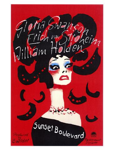 Sunset Boulevard Art Print