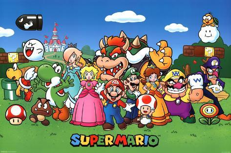 super mario characters print - Super Mario Pictures To Print