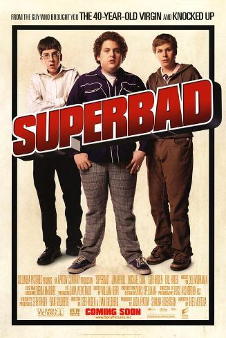 Superbad Double-sided poster