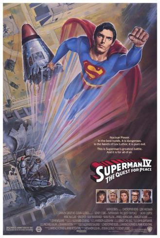 Superman 4: The Quest for Peace Masterprint