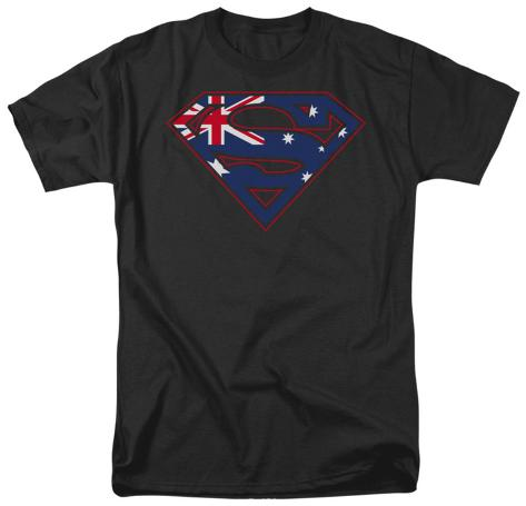 Superman - Austrailian Shield T-Shirt
