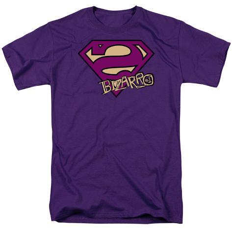 Superman-Bizarro Shield T-Shirt