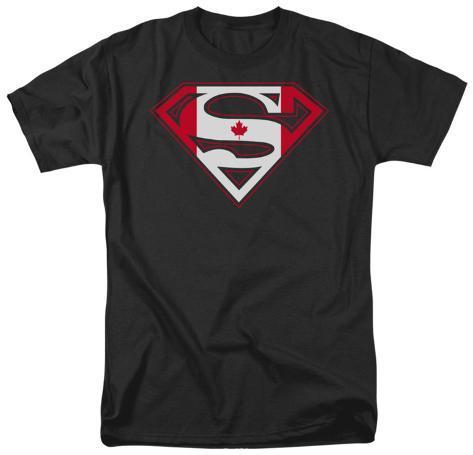Superman - Canadian Shield T-Shirt