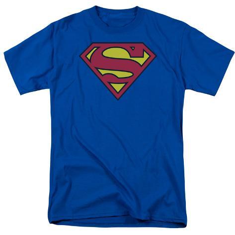 Superman - Classic Logo Camiseta