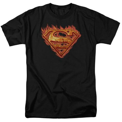 Superman-Hot Metal T-Shirt
