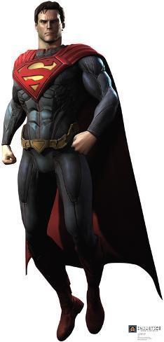 Superman - Injustice DC Comics Game Lifesize Standup Cardboard Cutouts